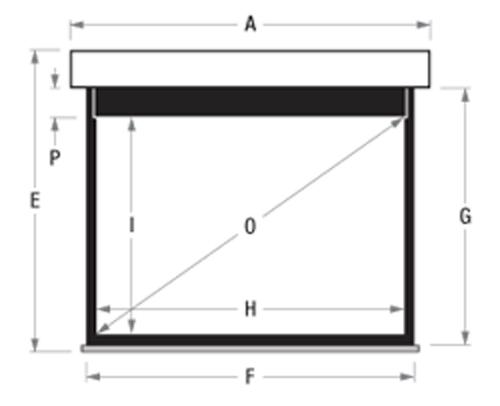 adeo Screen Multiformat Zeichnung